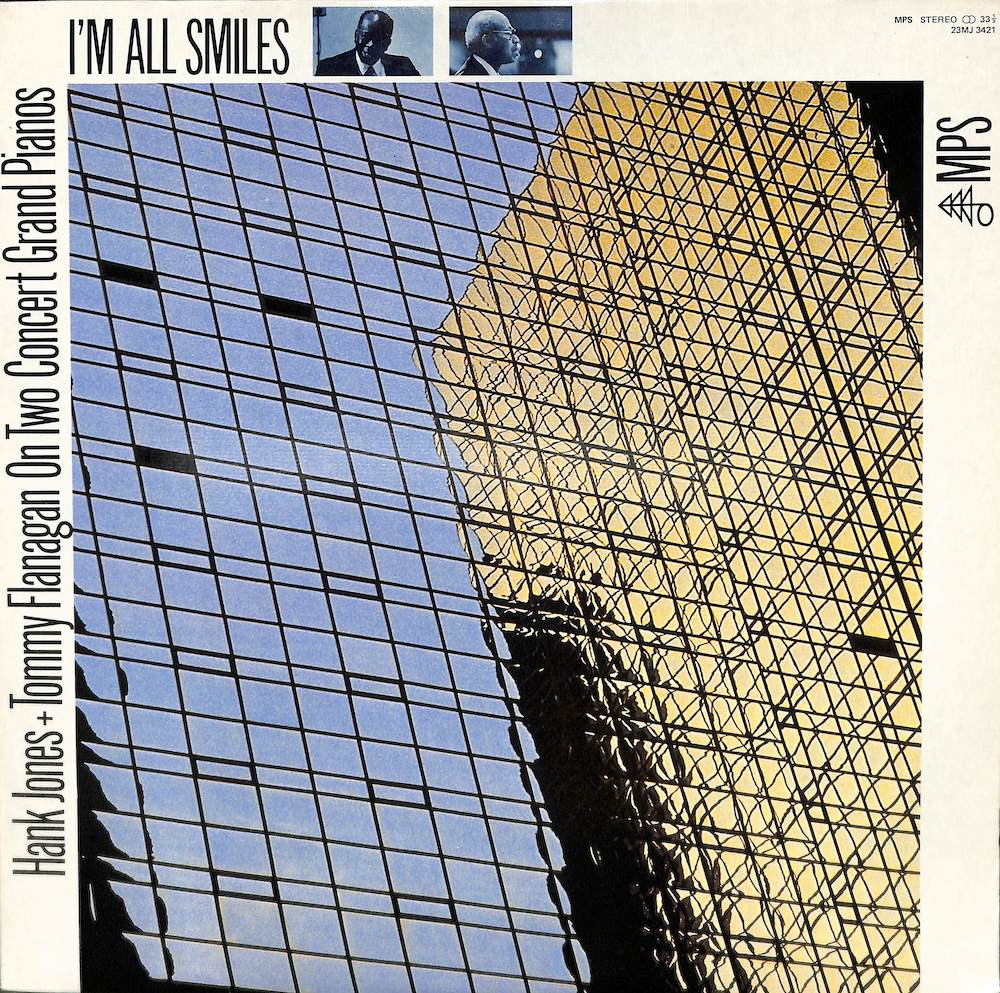 HANK JONES TOMMY FLANAGAN - I'm All Smiles: On Concert Grand Pianos - LP