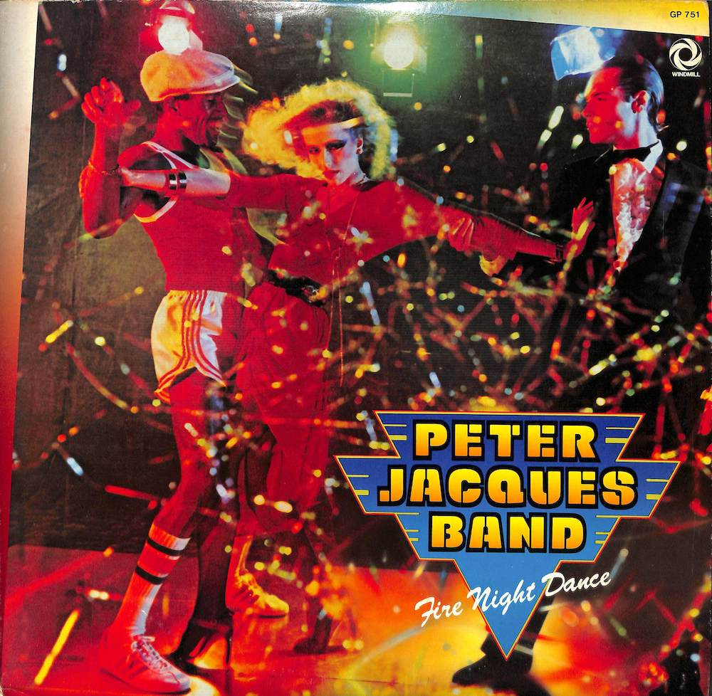 PETER JACQUES BAND - Fire Night Dance - LP