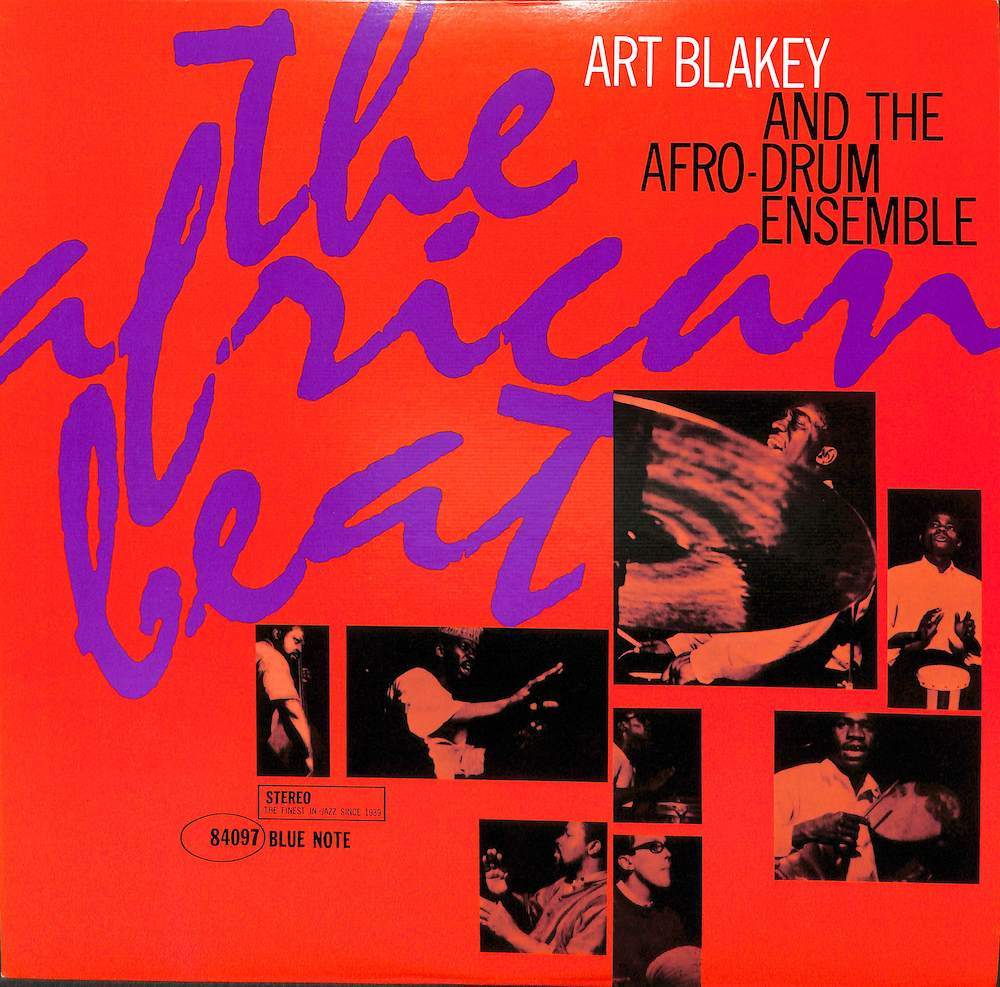 ART BLAKEY AND THE AFRO DURM ENSEMBLE - The African Beat - LP