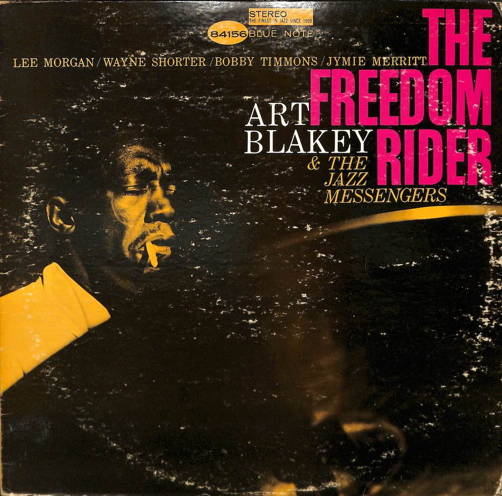 ART BLAKEY & THE JAZZ MESSENGERS - The Freedom Rider - LP