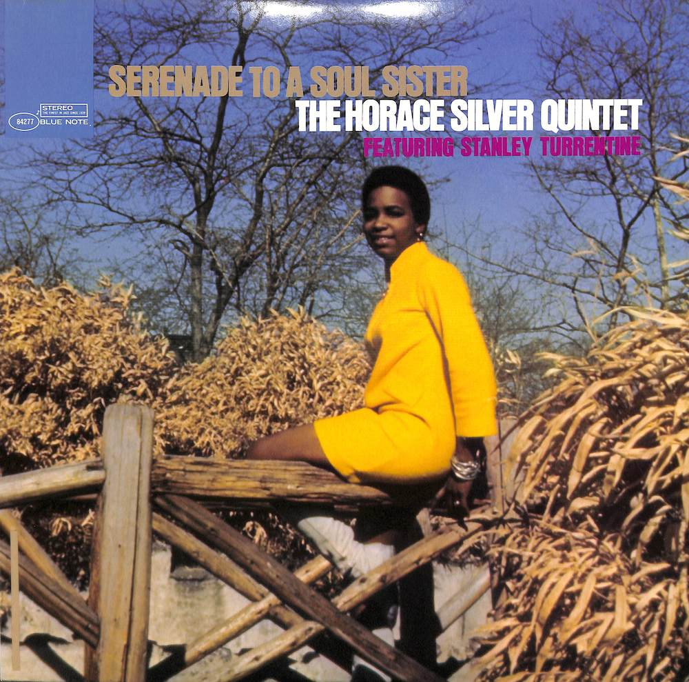 HORACE SILVER QUINTET FEATURING STANLEY TURRENTINE - Serenade To A Soul Sister - LP