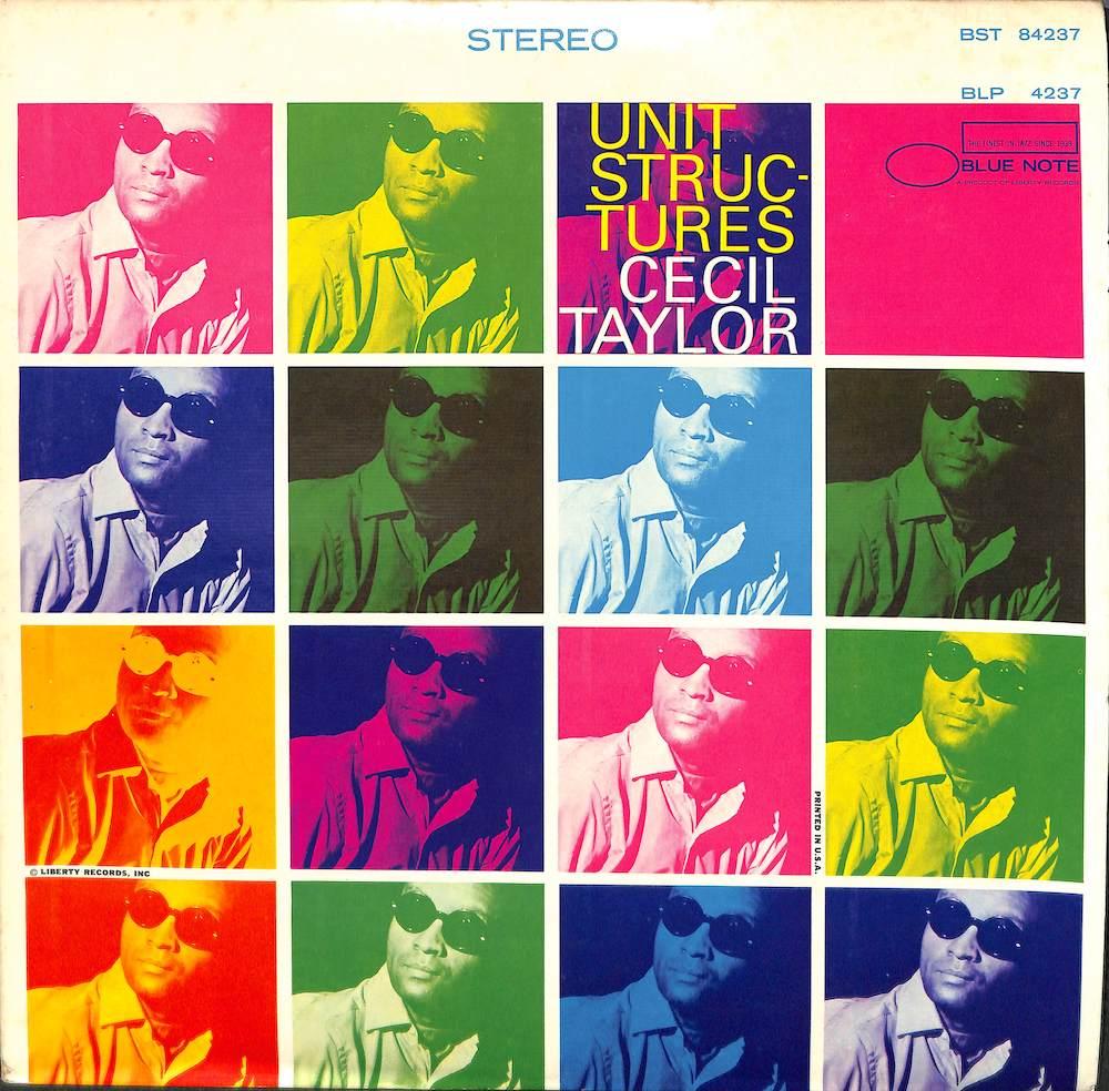 CECIL TAYLOR - Unit Structures - LP