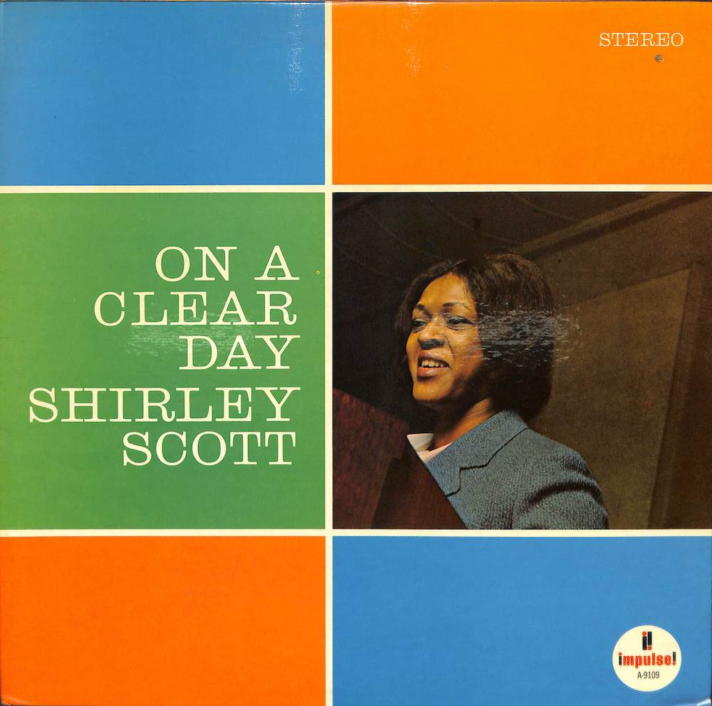 SHIRLEY SCOTT - On A Clear Day - LP