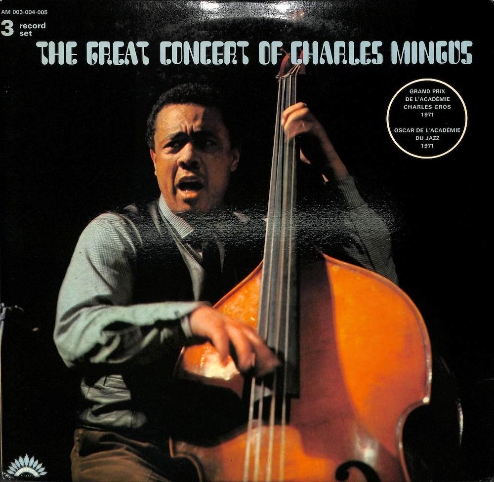 CHARLES MINGUS - The Great Concert Of - LP