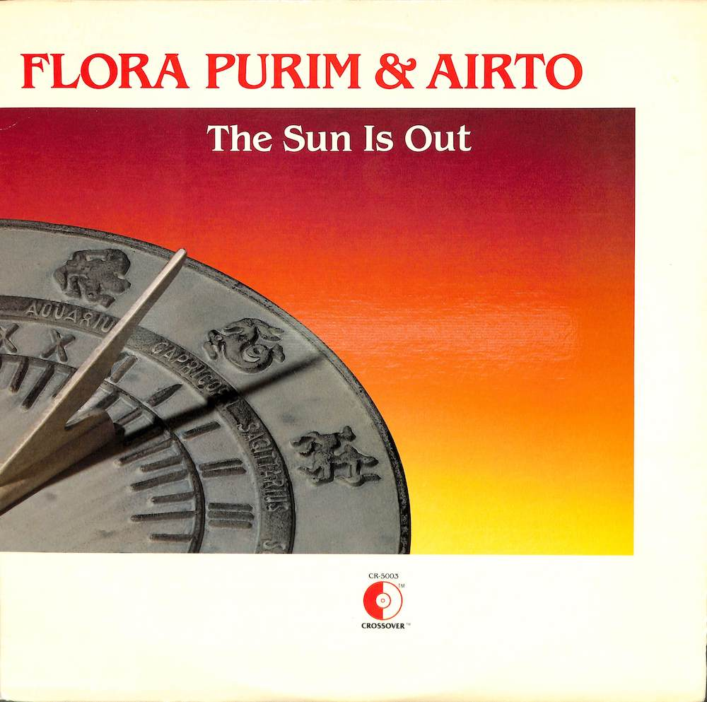 FLORA PURIM & AIRTO - The Sun Is Out - 33T