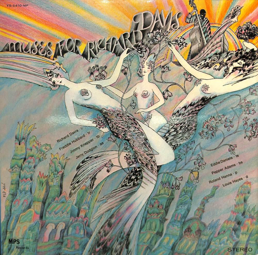 RICHARD DAVIS - Muses For - LP