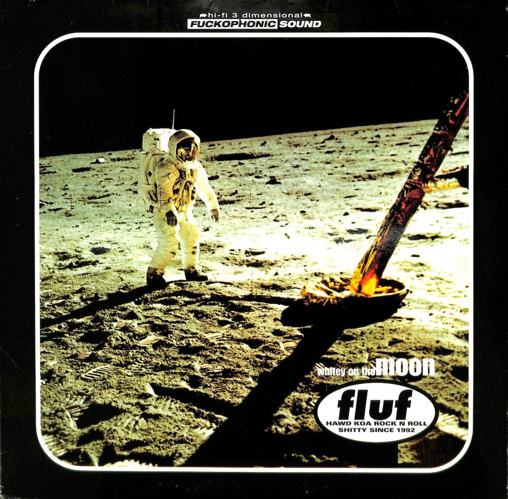 FLUF - Whitney On The Moon - 33T