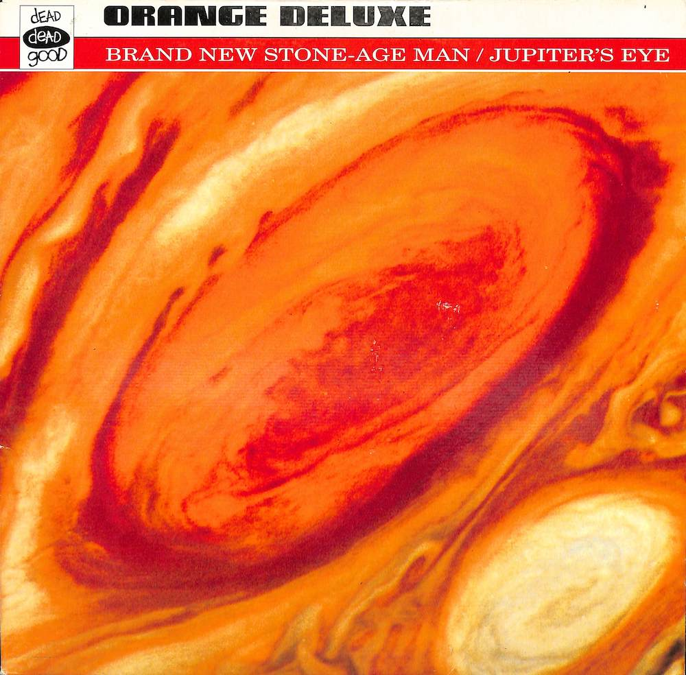 ORANGE DELUXE - Brand New Stone Age Man / Jupiter's Eye - 25 cm