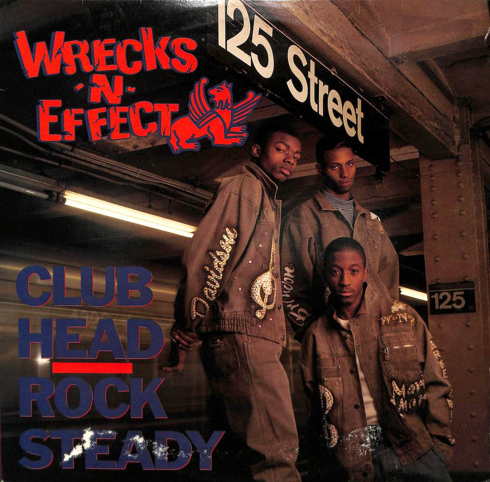 WRECKS'N'EFFECT - Club Head / Rock Steady - Maxi x 1