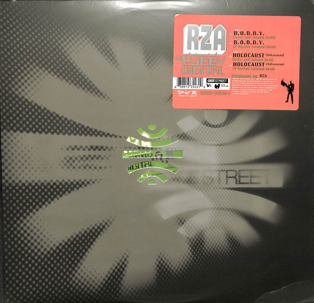 RZA AS BOBBY DIGITAL - B.O.B.B.Y. / Holocaust - Maxi x 1