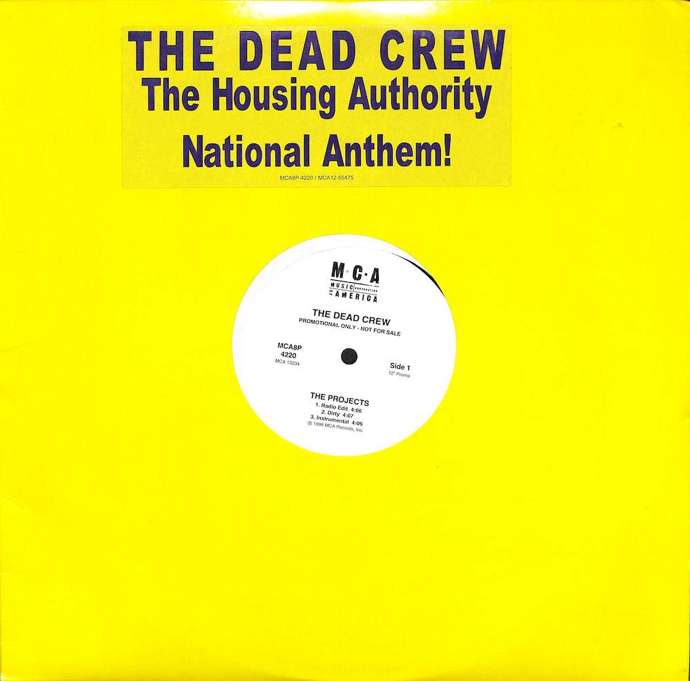 DEAD CREW - Projects / Step Ya' Game Up - Maxi x 1