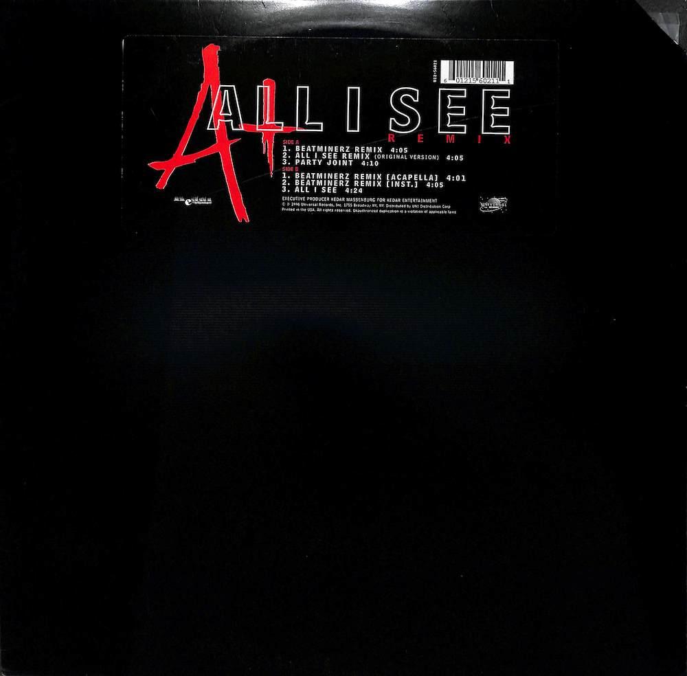 A+ - All I See: Remix - Maxi x 1