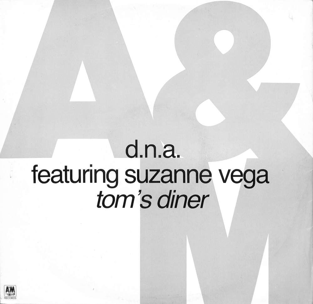 D.N.A. FEAT. SUZANNE VEGA - Tom's Diner - Maxi x 1