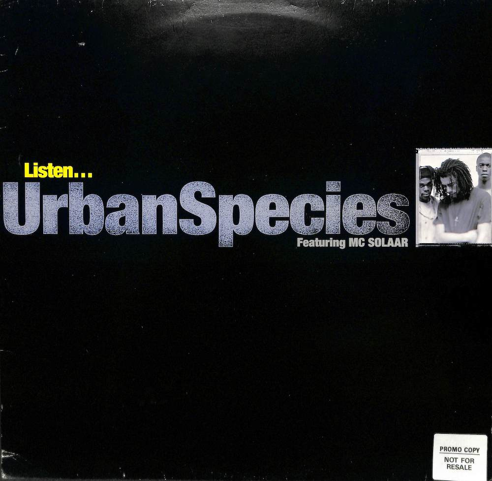 URBAN SPECIES - Listen - Maxi x 1