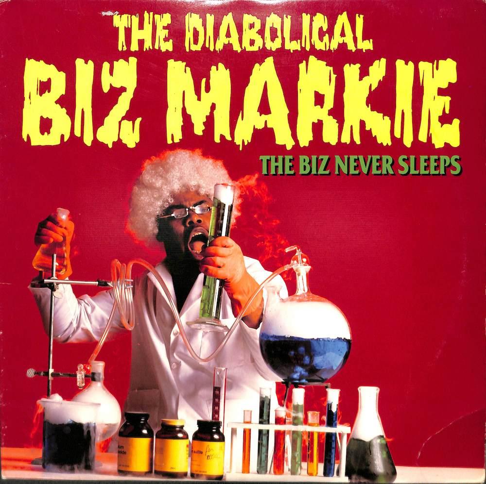 BIZ MARKIE - Biz Never Sleeps - 33T