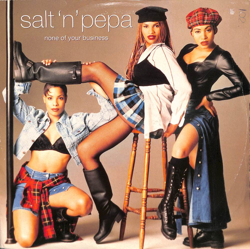 SALT'N'PEPA - None Of Your Business - Maxi x 1