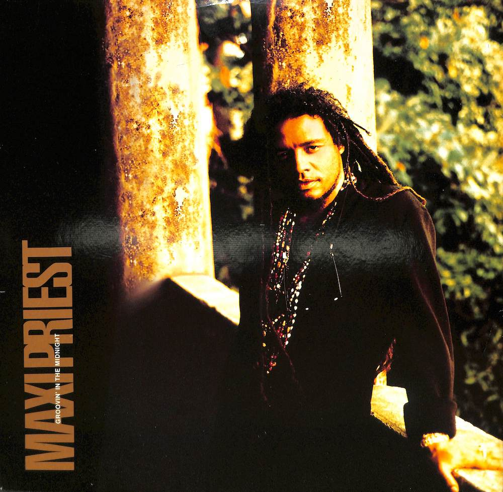 MAXI PRIEST - Groovin' In The Midnight / Dreaming - 12 inch x 1