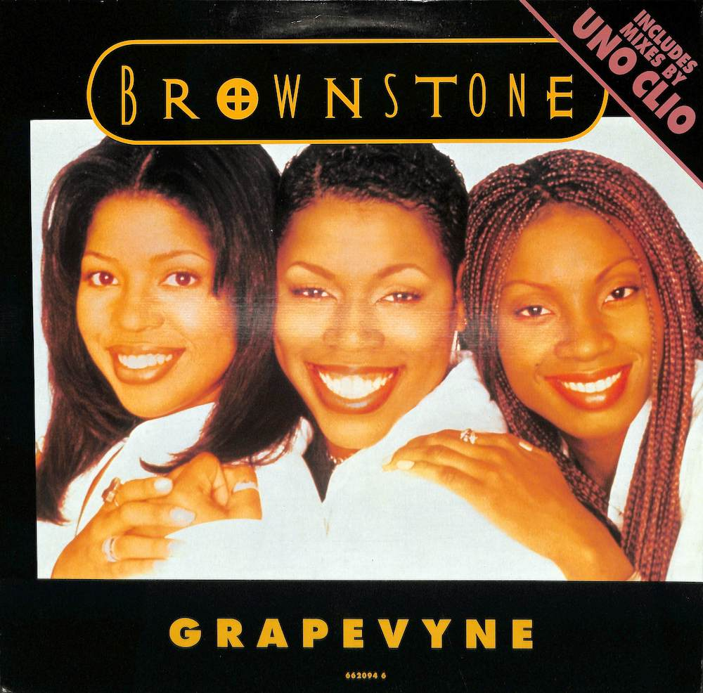 BROWNSTONE - Grapevyne - 12 inch x 1