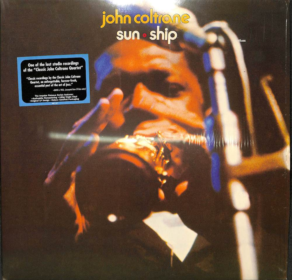 JOHN COLTRANE - Sun Ship - LP
