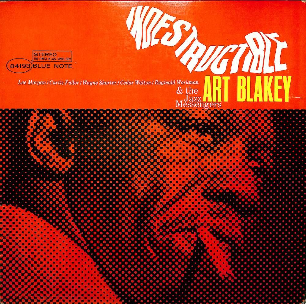 ART BLAKEY & THE JAZZ MESSENGERS - Indestructible - 33T