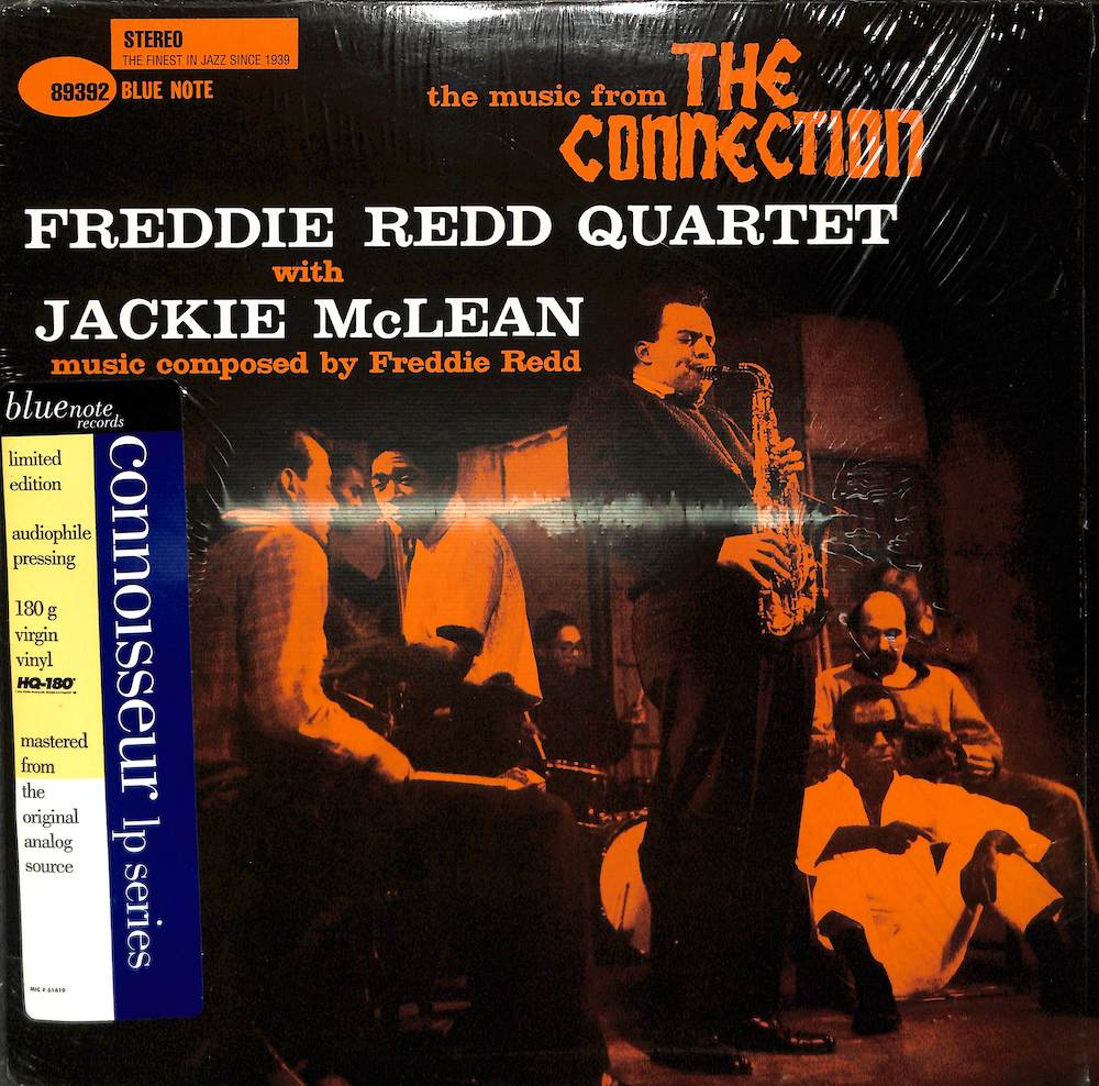 FREDDIE REDD QUARTET WITH JACKIE MCLEAN - The Music From The Connection - 33T