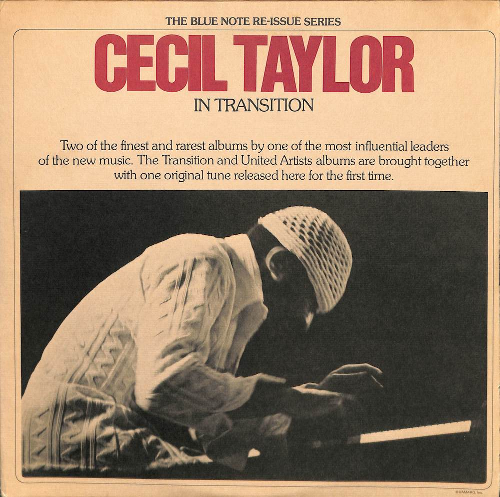 CECIL TAYLOR - In Transition - 33T
