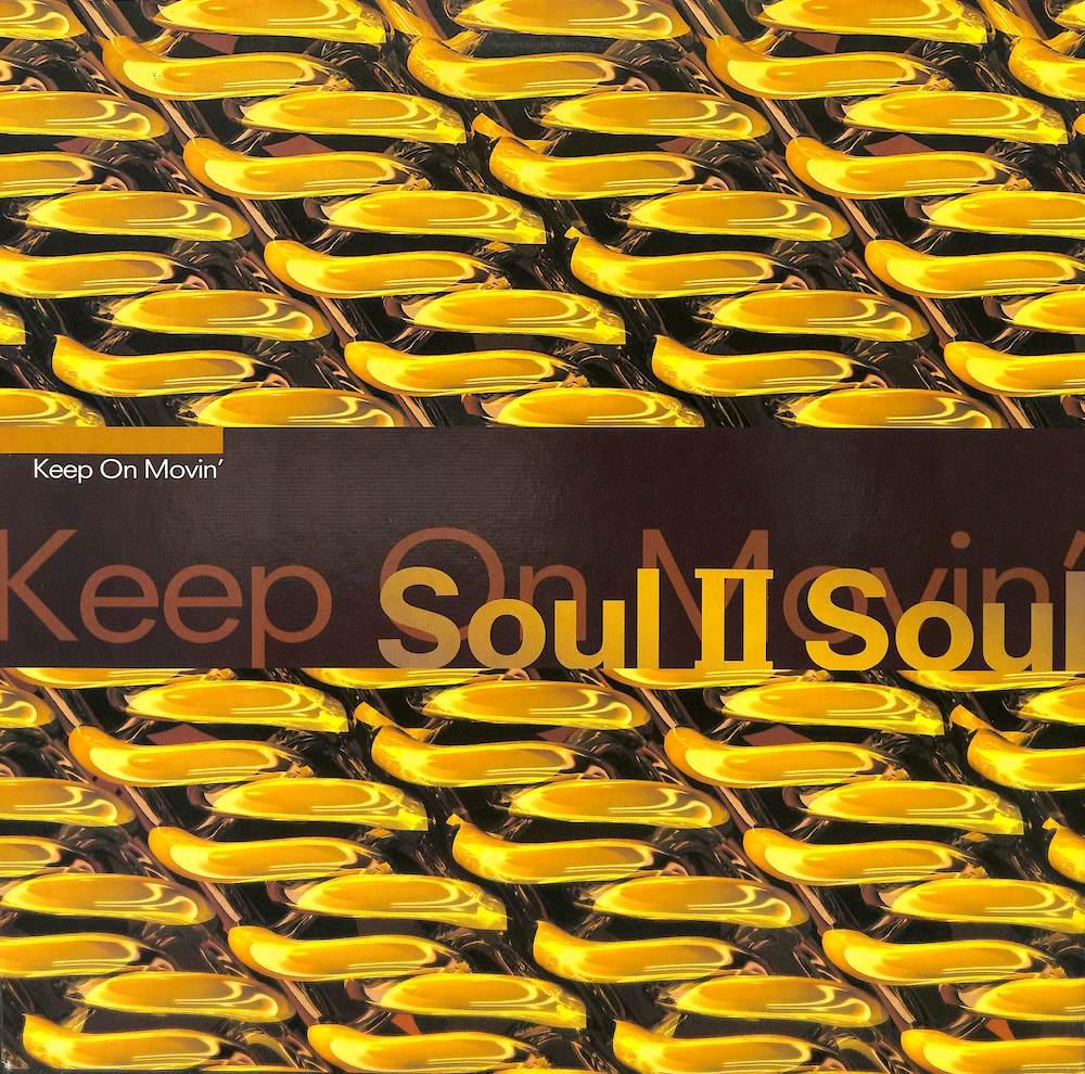 SOUL II SOUL - Keep On Movin - 12 inch x 1