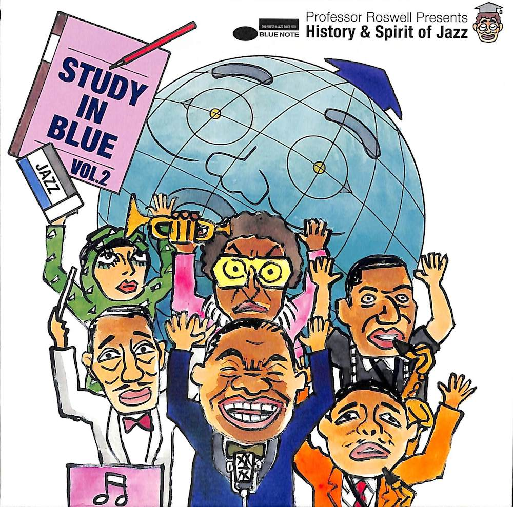 V.A. - Study In Blue Vol. 2: Professor Roswell Presents History & Spirit of Jazz - CD