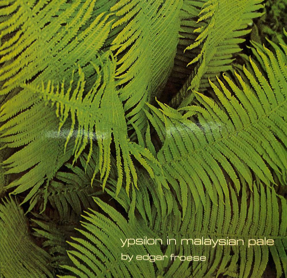 EDGAR FROESE - Ypsilon In Malaysian Pale - LP