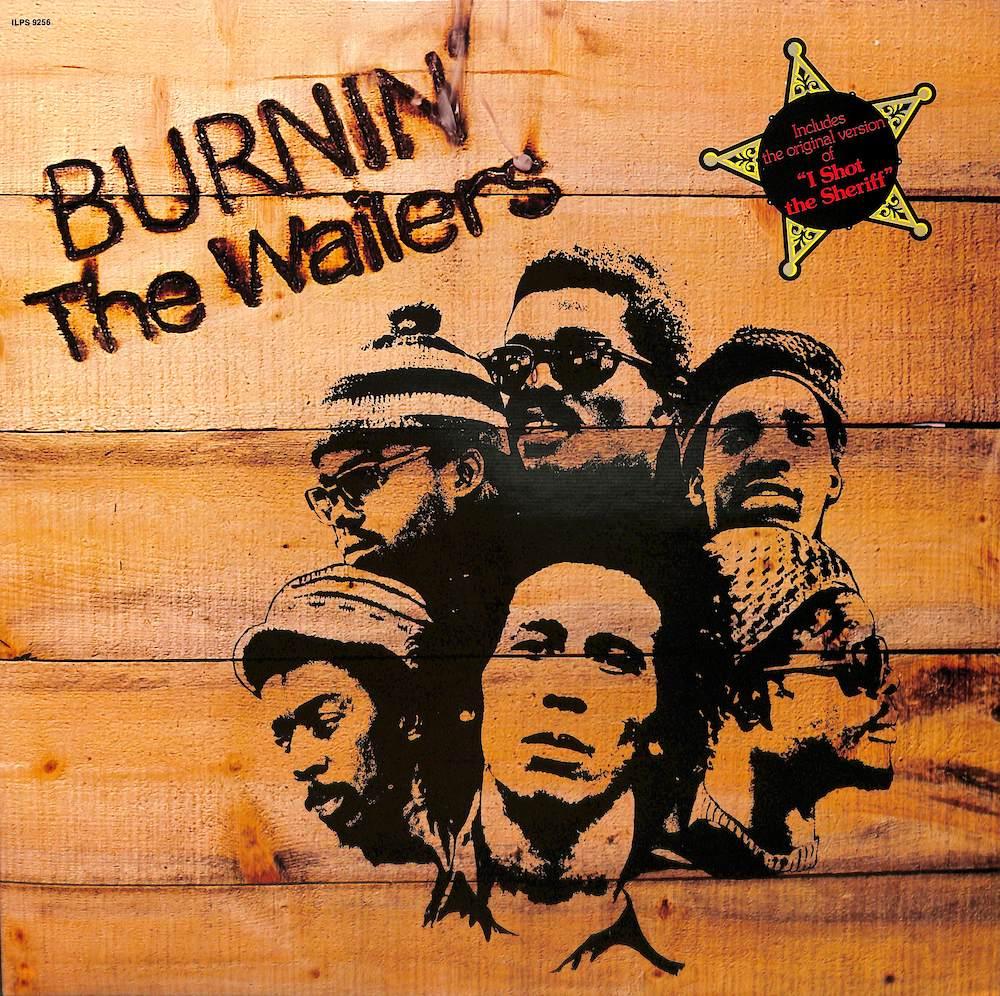 BOB MARLEY & THE WAILERS - Burnin' - 33T