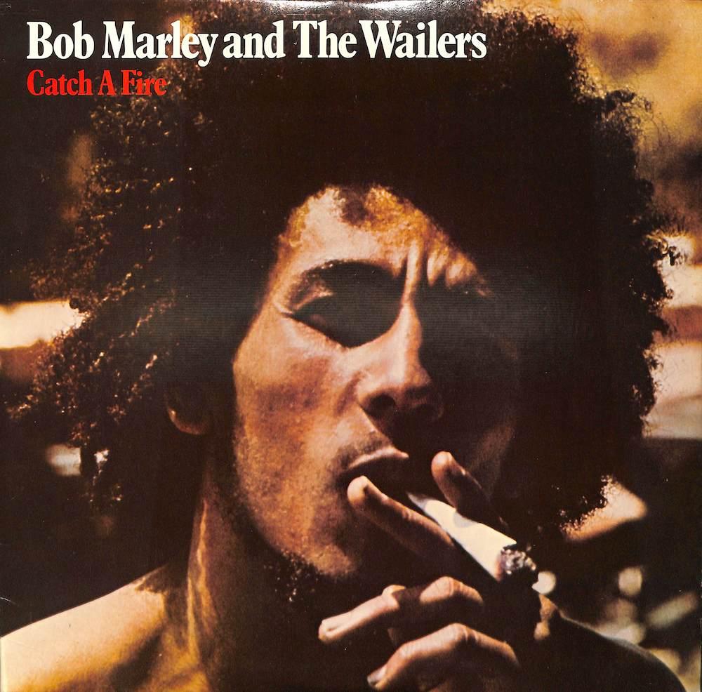 BOB MARLEY & THE WAILERS - Catch A Fire - LP