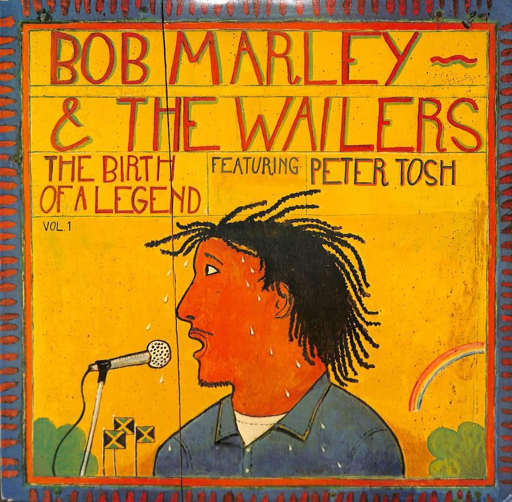 BOB MARLEY & THE WAILERS - Birth Of A Legend - 33T