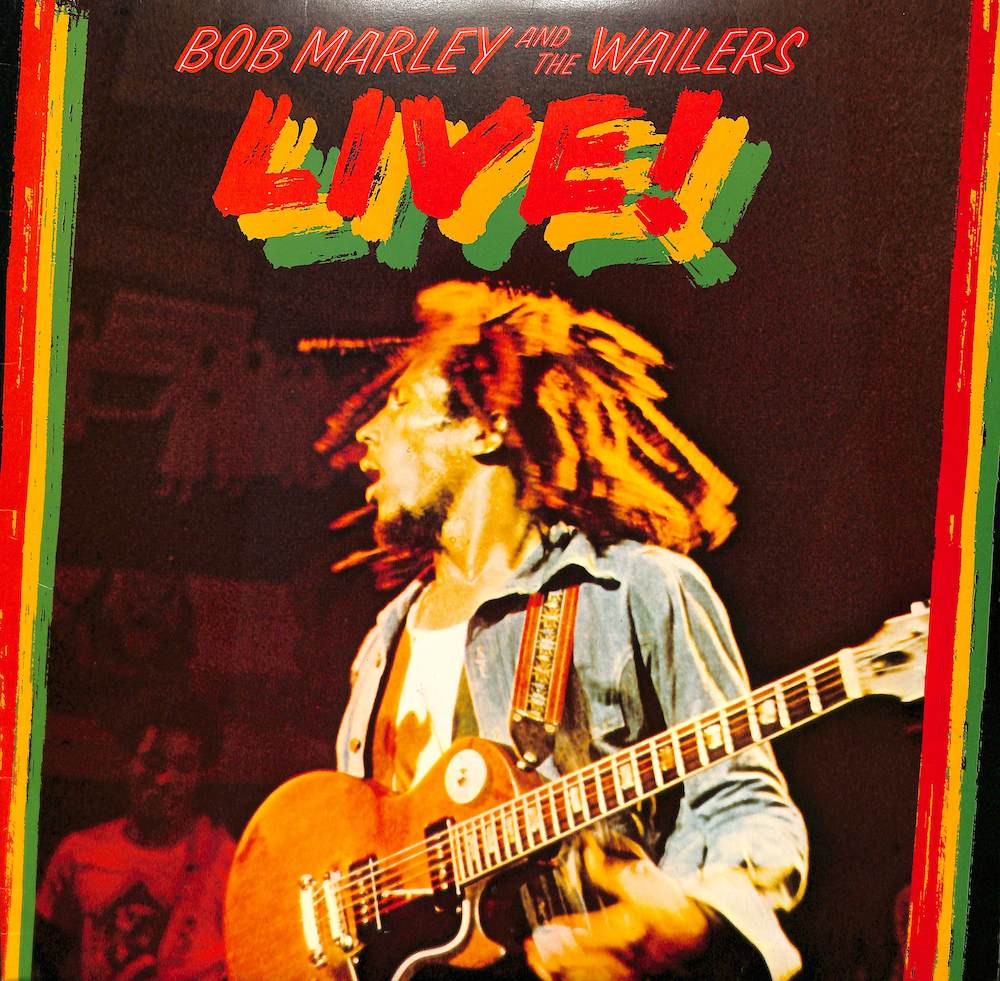 BOB MARLEY AND THE WAILERS - Live! At The Lyceum - LP