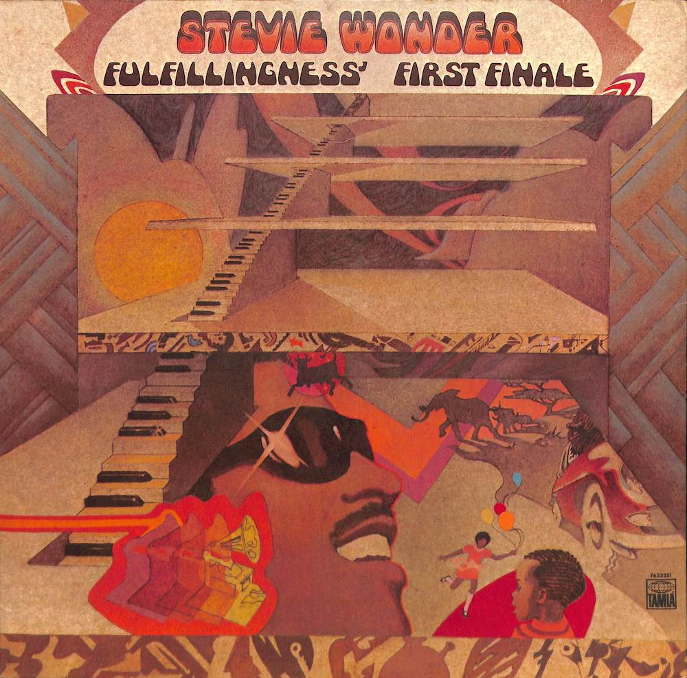 STEVIE WONDER - Fulfillingness' First Finale - LP