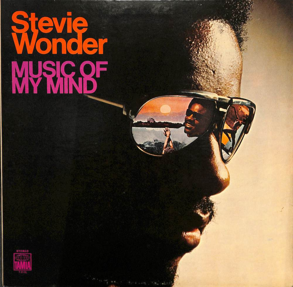 STEVIE WONDER - Music Of My Mind - LP