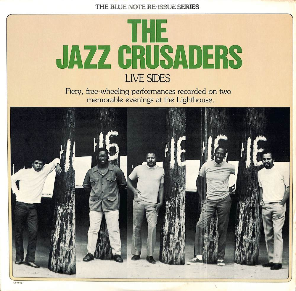 JAZZ CRUSADERS - Live Sides - LP