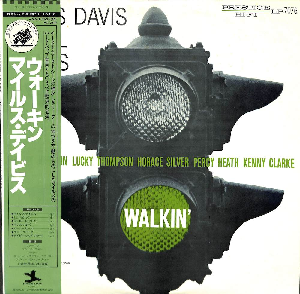 MILES DAVIS - Walkin' - LP