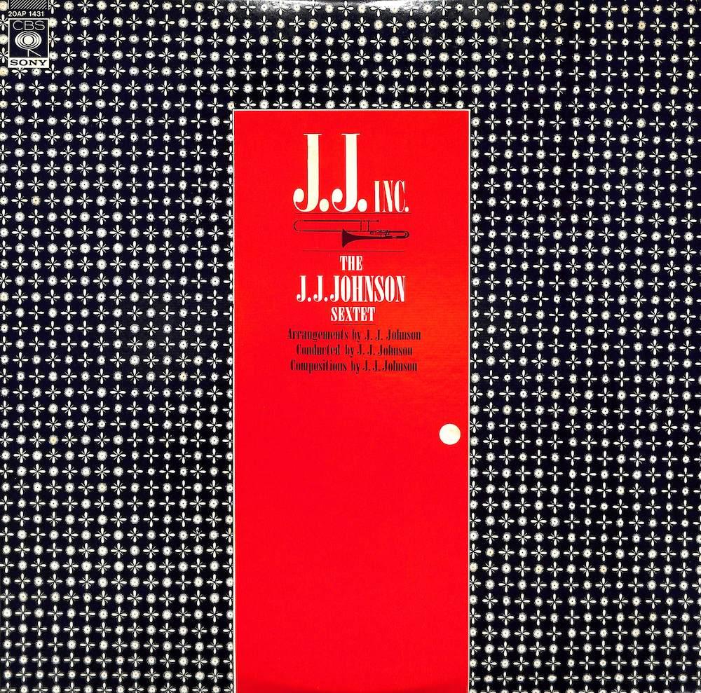 J.J. JOHNSON SEXTET - J. J. Inc. - LP