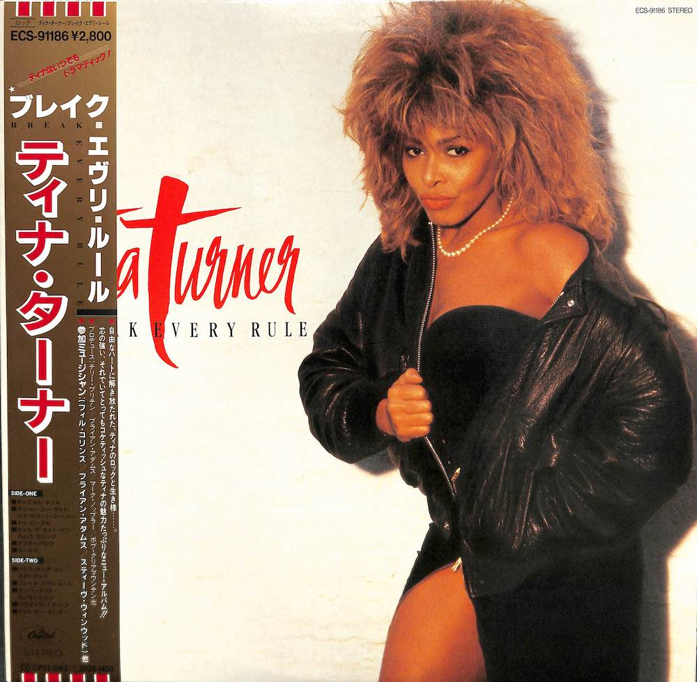 TINA TURNER - Break Every Rule - LP