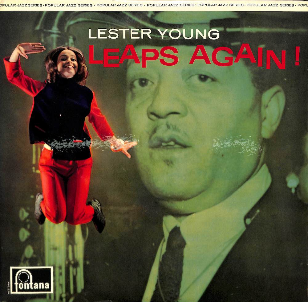 LESTER YOUNG - Leaps Again - 33T