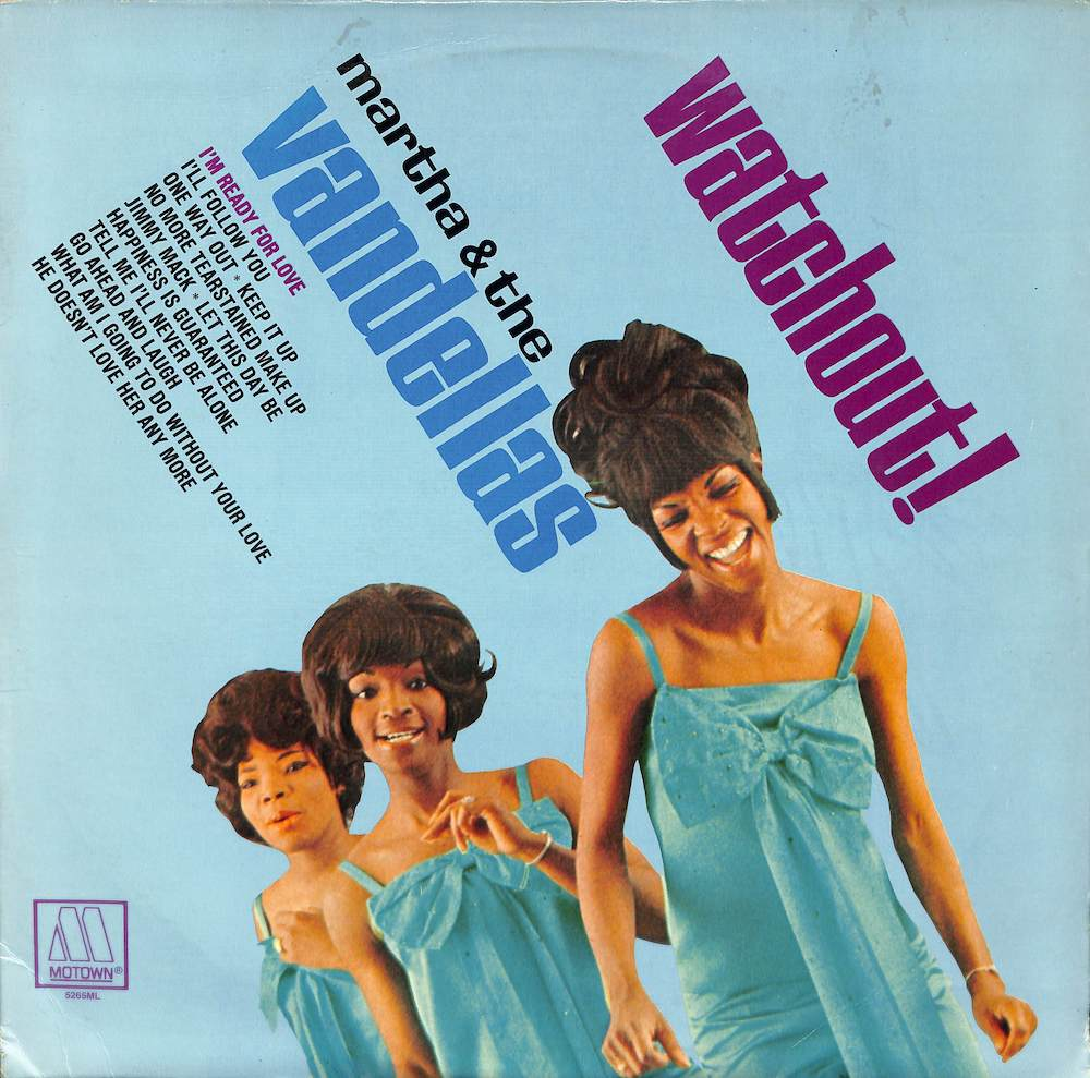 MARTHA & THE VANDELLAS - Watchout! - LP