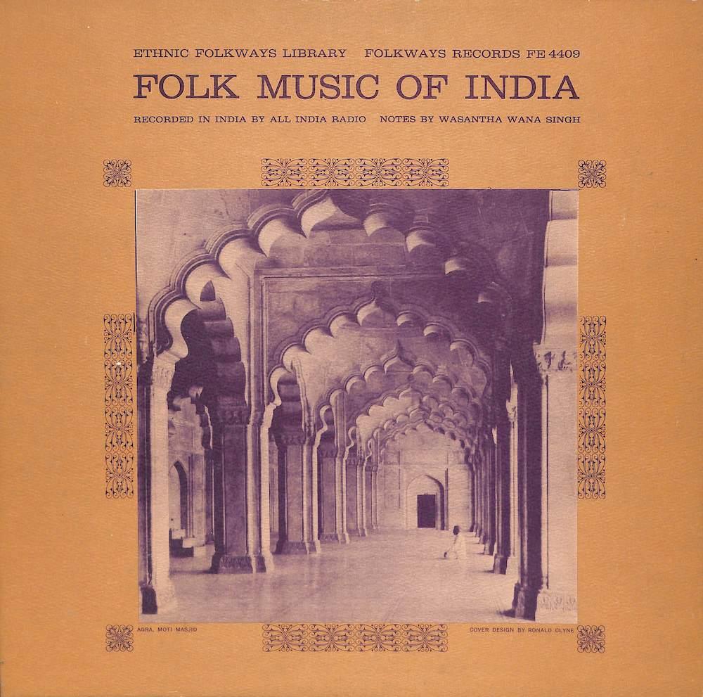 V.A. - Folk Music Of India - 33T