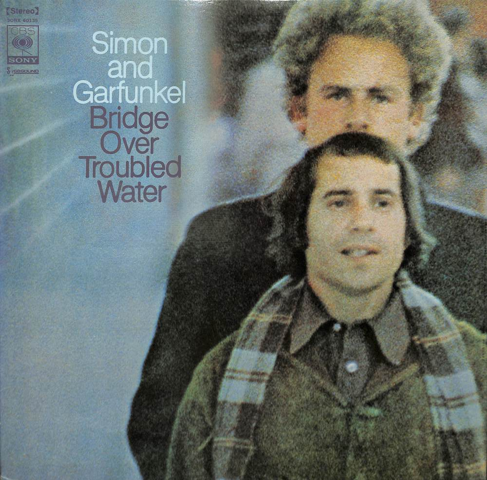 SIMON AND GARFUNKEL - Bridge Over Troubled Water - 33T