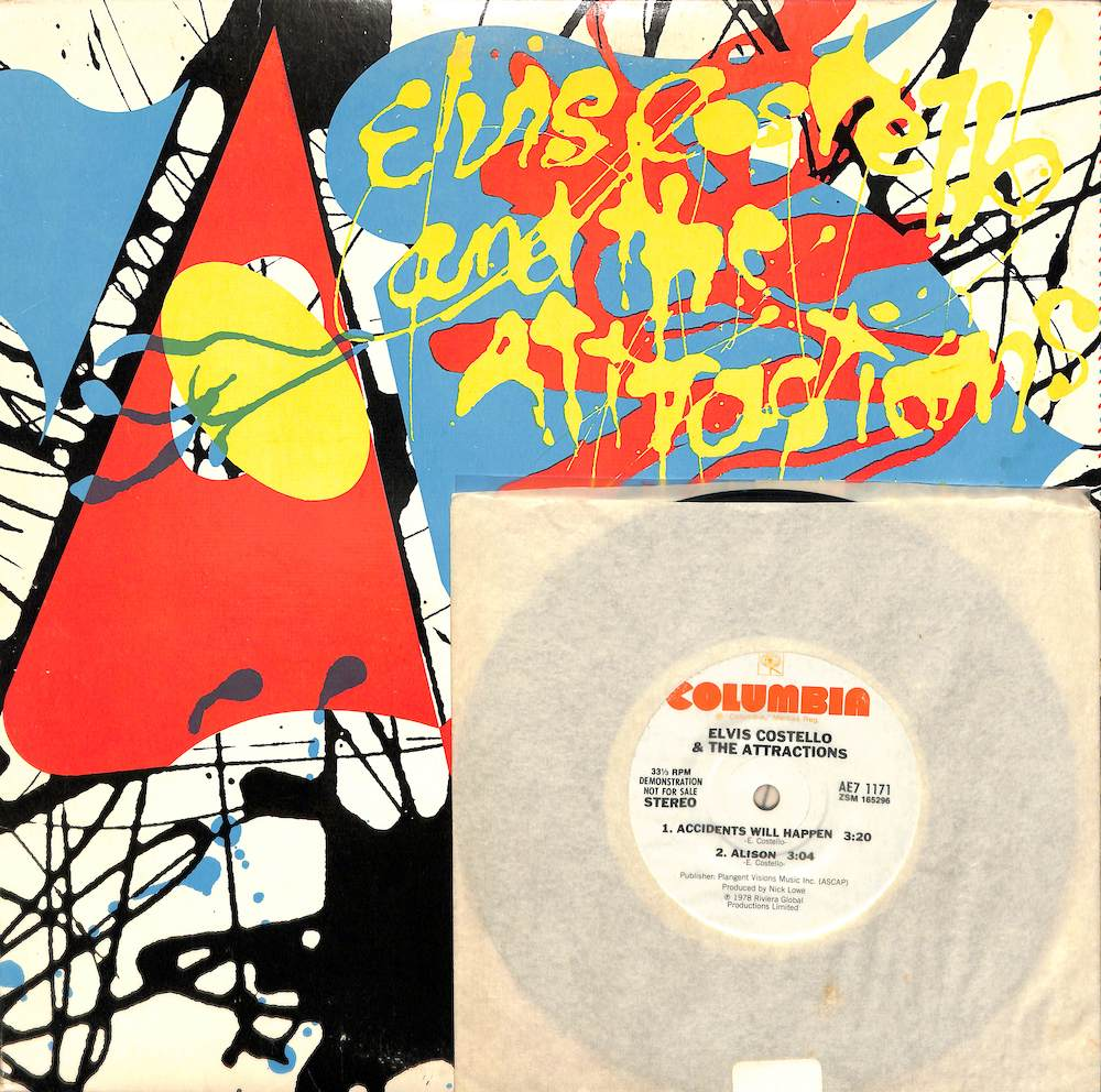 ELVIS COSTELLO & THE ATTRACTIONS - Armed Forces - 33T