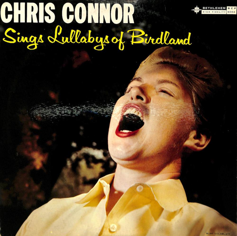 CHRIS CONNOR - Sings Lullabys Of Birdland - 33T