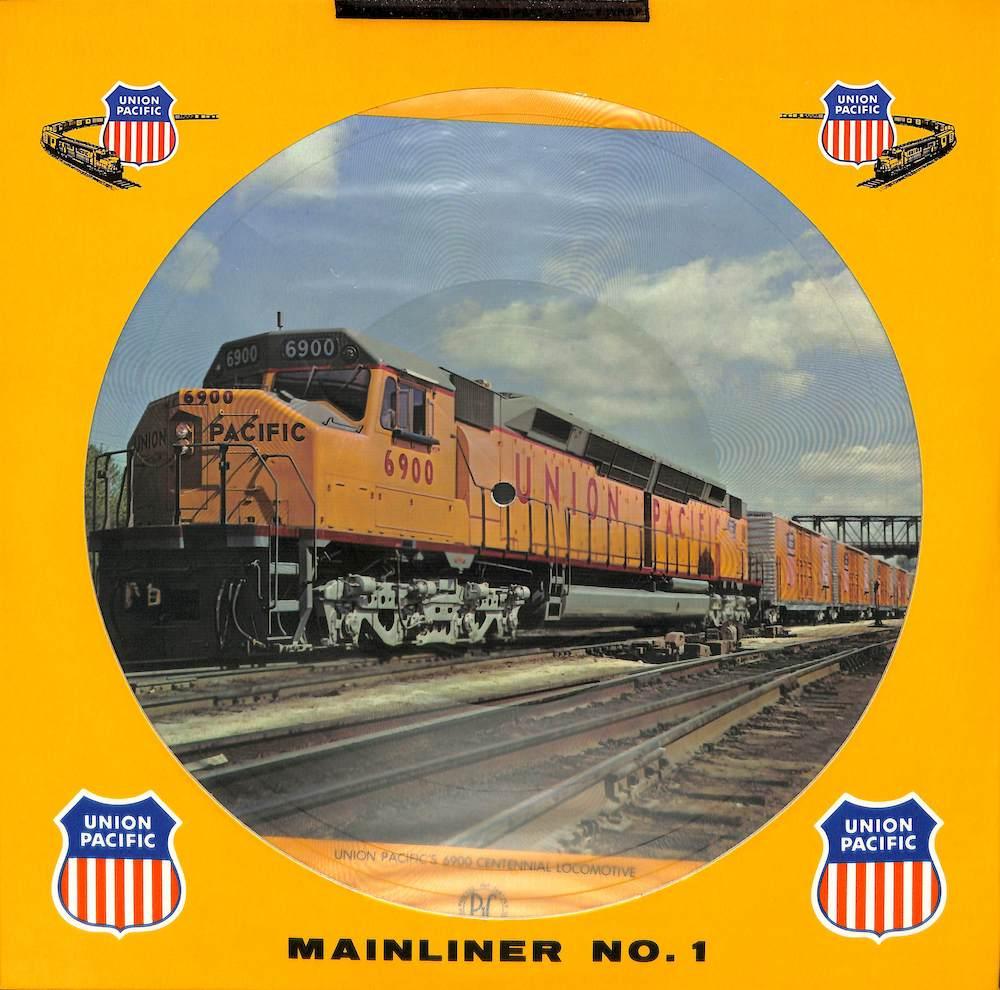 UNION PACIFIC RAILROAD - Mainliner No. 1 - LP
