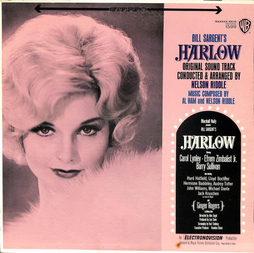 AL HAM NELSON RIDDLE - Harlow Original Soundtrack - LP