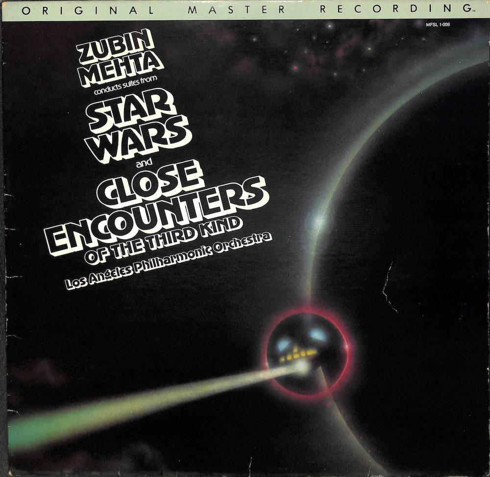ZUBIN MEHTA LOS ANGELES PHILHARMONIC ORCHESTRA - Suites From Star Wars And Close Encounters Of The Third Kind - 33T