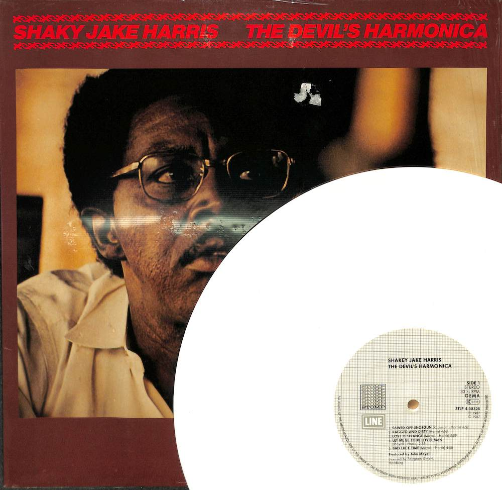SHAKEY JAKE HARRIS - The Devil's Harmonica - LP