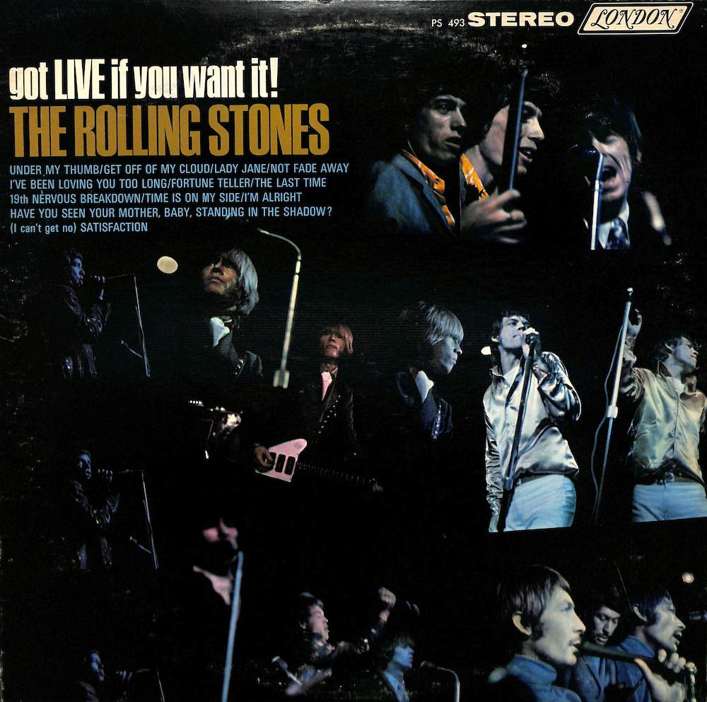 ROLLING STONES - Got Live If You Want It! - 33T